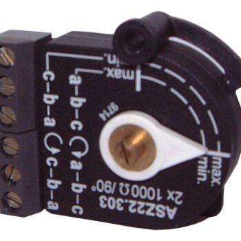 Двойной потенциометр Siemens ASZ22.30