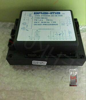Блок управления горением Brahma CM12U 37053005