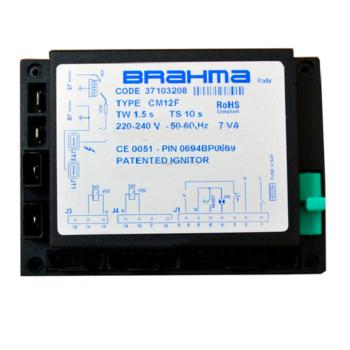 Блок управления горением BRAHMA CM12F 37103208